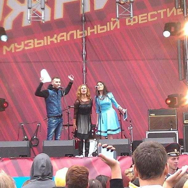 Ведущий городских мероприятий в Лужниках. День города Москвы и Winter Mega Dance.