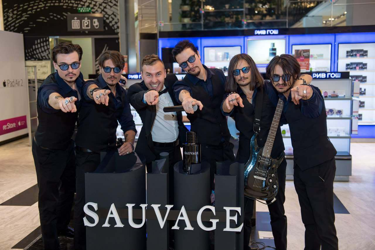 Презентация нового аромата Dior Sauvage