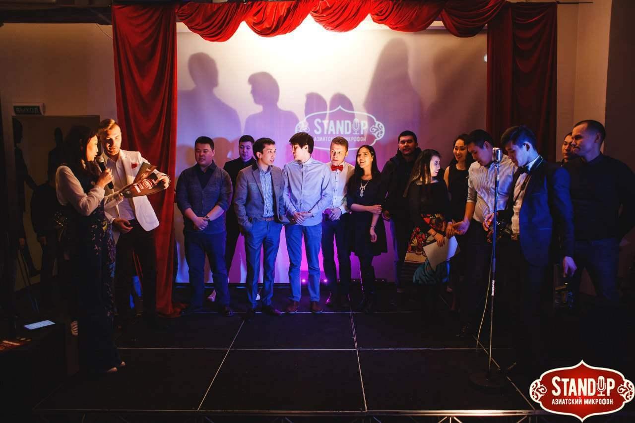 Stand Up шоу «Азиатский открытый микрофон» в «COIN HALL».