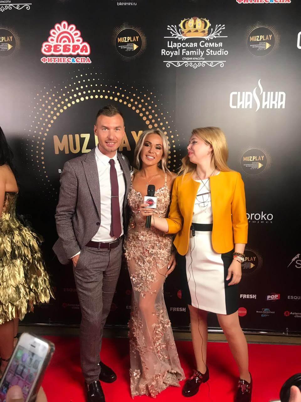 Музыкальная премия MUZPLAY 2019 в МОСКВА CLUB 1000 гостей